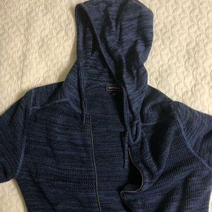 Express Men's - zip jacket, dark blue
